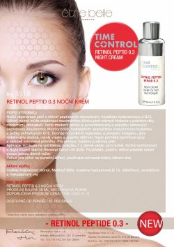 3518 Retinol Peptid 0.3 Night Cream